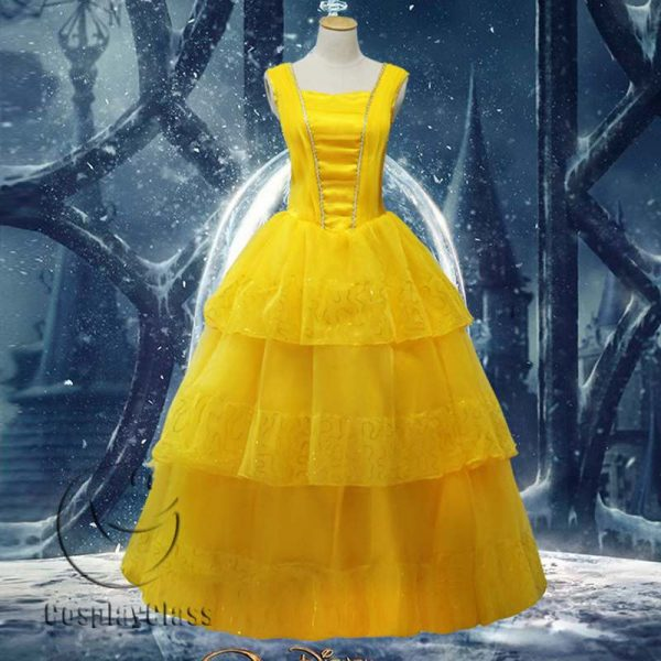 Beauty and the Beast Bella Cos Cosplay Costume