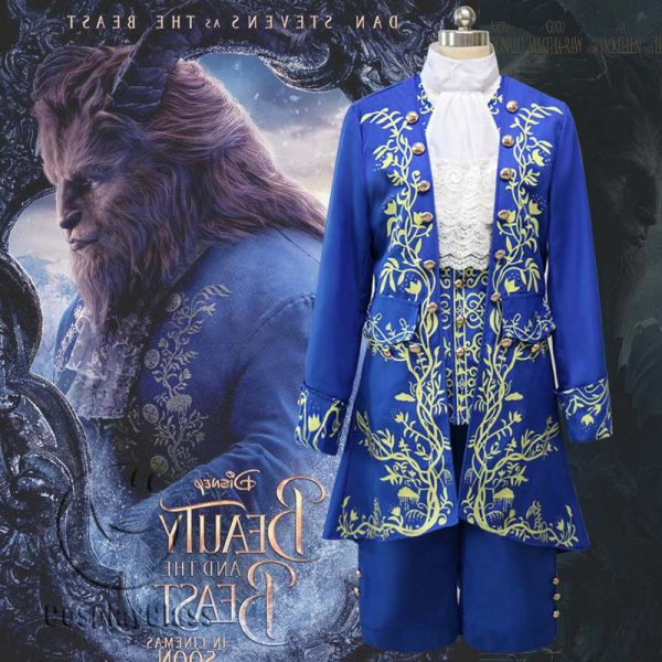 Beauty and the Beast Prince Cos Cosplay Costume