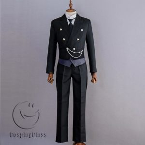 Black Butler Sebastian Michaelis Cos Cosplay Costume