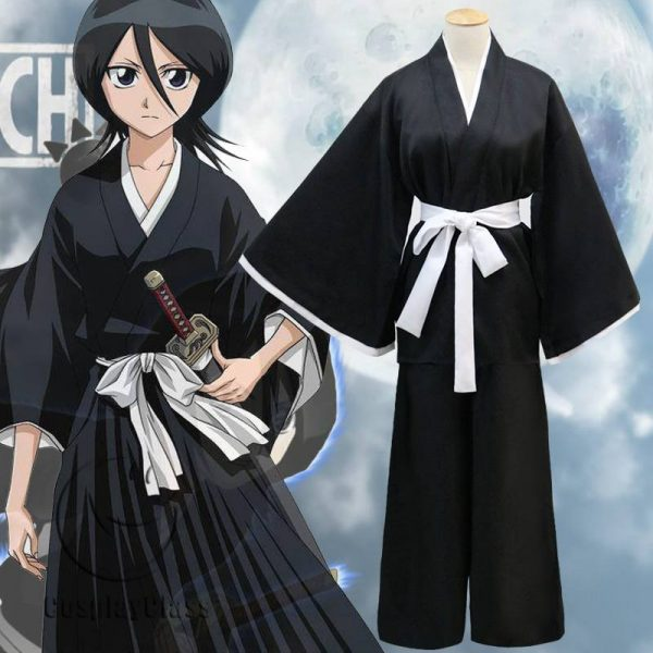 Bleach Kuchiki Rukia Die pa Cos Cosplay Costume