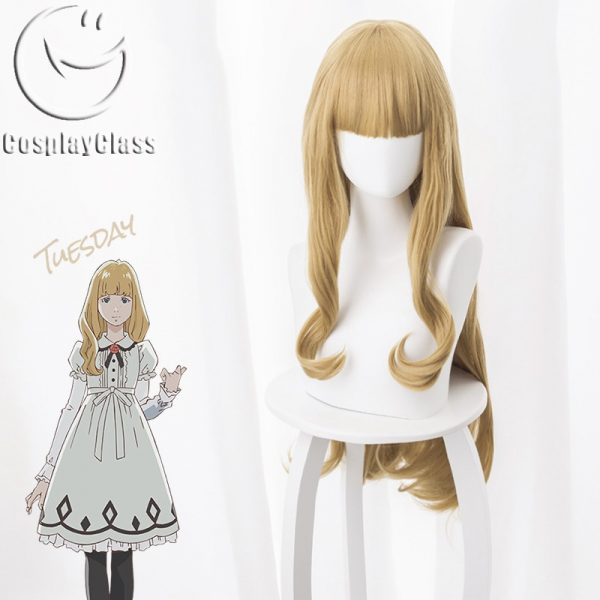 Carole & Tuesday Tuesday Cosplay Wig