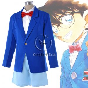 Case Closed Edogawa Conan Cos Cosplay Costume