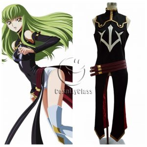 Code Geass: Lelouch of the Rebellion CC Cosplay Costume