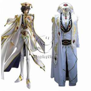 Code Geass: Lelouch of the Rebellion Lelouch Lamperouge Cosplay Costume