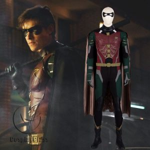 DC Comics Titans Robin Cosplay Costume