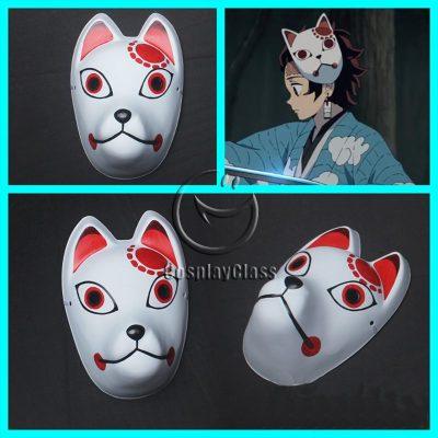 Demon Slayer Kimetsu no Yaiba Kamado Tanjirou Mask Cosplay Props