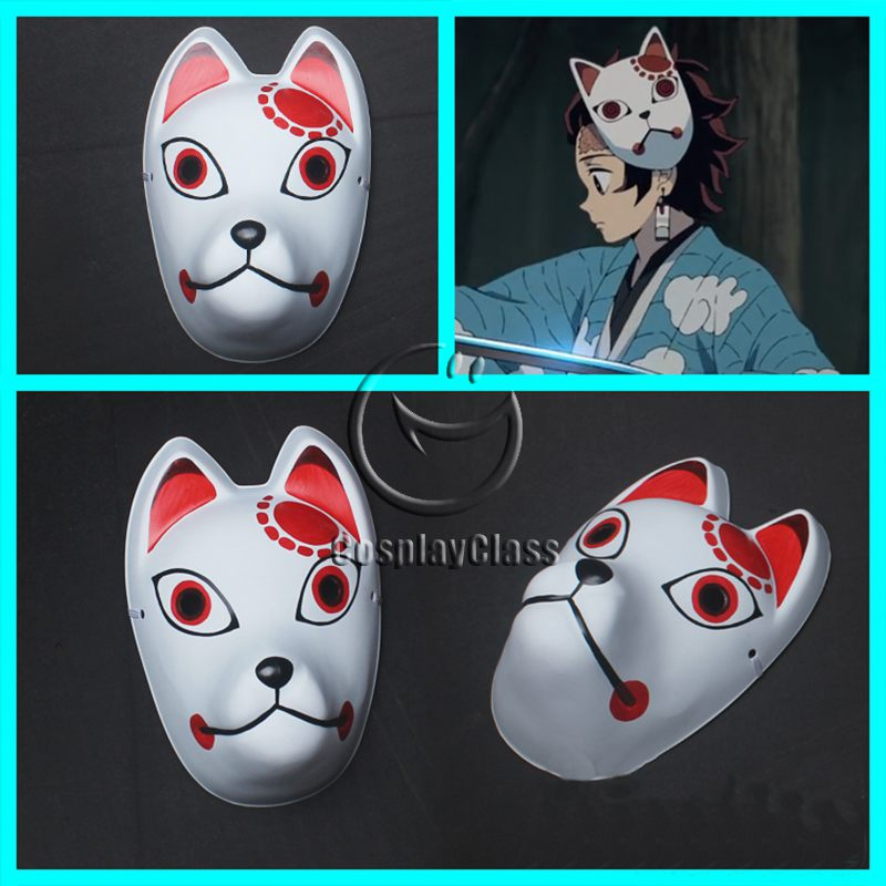 Demon Slayer Kimetsu no Yaiba Kamado Tanjirou Mask Cosplay Props