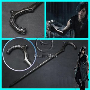 Devil May Cry 5 DMC V Vitale Crutch Cosplay Props