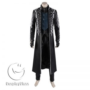 Devil May Cry 5 Vergil DMC Cosplay Costume