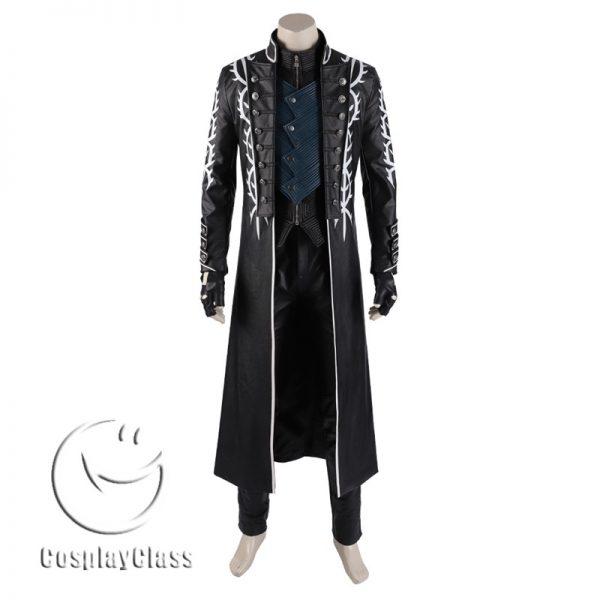 Devil May Cry 5 Vergil DMC Cosplay Costume