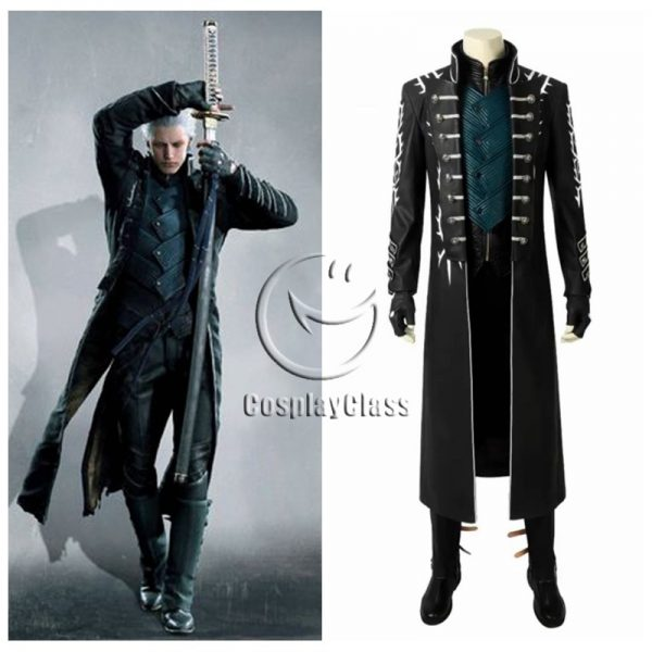 Devil May Cry 5 Vergil DMC5 Cosplay Costume