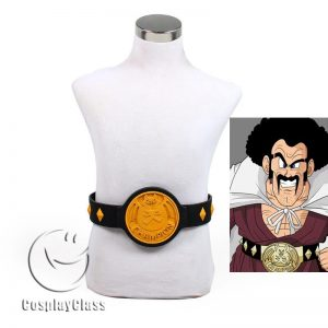 Dragon Ball Mr. Satan Hercule Belt Cosplay Props