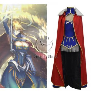 Fate Arutoria Pendoragon Arturia and Altria Saber Cosplay Costume