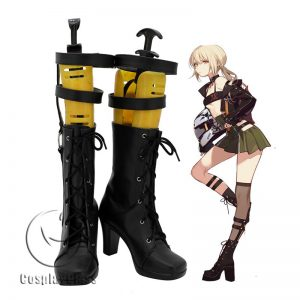 Fate Grand Order Arutoria Pendoragon Valentine's Day Cosplay Boots