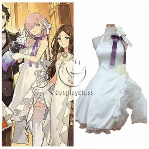 Fate Grand Order FGO Matthew Kyrielite White Dress Cosplay Costume