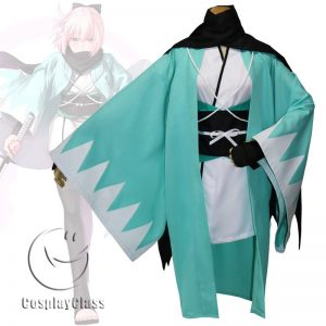 Fate/Grand Order Okita Souji Cos Cosplay Costume