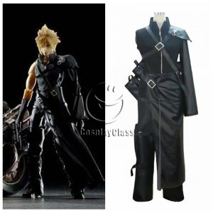 Final Fantasy VII FF7 Cloud Strife Cosplay Costume