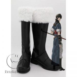Fire Emblem Awakening Lonqu Ronku Ronkuu Cosplay Boots