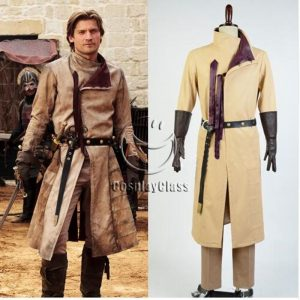 Game of Thrones Jaime Lannister Cosplay Costume