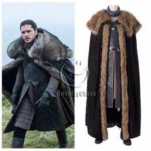 Game of Thrones: The Final Season Jon Snow Cosplay Costume