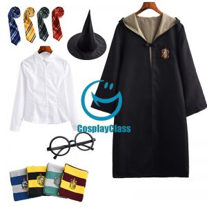 Harry Potter Hufflepuff Cos Cosplay Costume