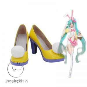 Hatsune Miku Four Seasons Cosplay Shoes