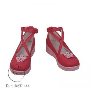 Hatsune Miku Pink Cosplay Shoes