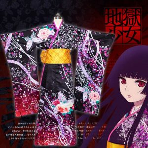 Hell Girl: Fourth Twilight Enma Ai Cos Cosplay Costume