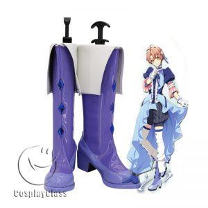 IDOLiSH7 Nikaidou Yamato Purple Cosplay Boots