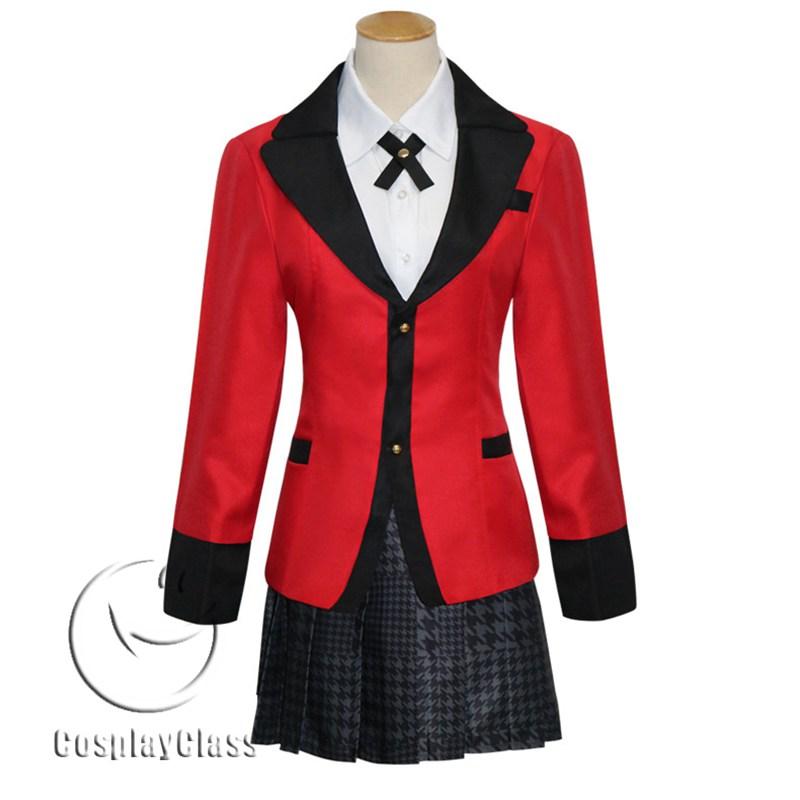 Kakegurui Jabami Yumeko Cos Cosplay Costume - CosplayClass