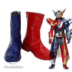 Kamen Rider Build Cross-ZBuild Form Cosplay Boots