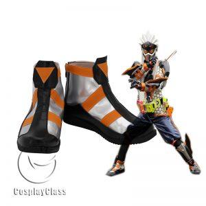 Kamen Rider Fuma Ninja Gamer Cosplay Shoes