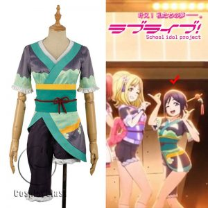 LoveLive! Aqours MY TONIGHT Kanan Matsuura Cosplay Costume