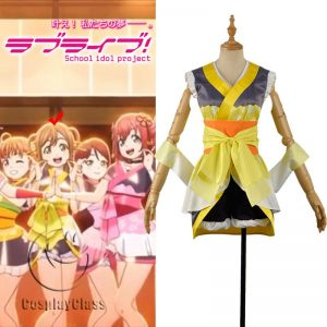 LoveLive! Aqours MY TONIGHT Kunikida Hanamaru Cosplay Costume