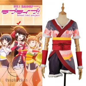 LoveLive! Aqours MY TONIGHT Kurosawa Dia Cosplay Costume