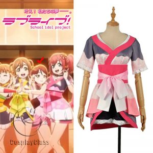 LoveLive! Aqours MY TONIGHT Sakurauchi Riko Cosplay Costume