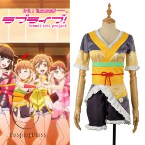LoveLive! Aqours MY TONIGHT Takami Chika Cosplay Costume