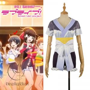 LoveLive! Aqours MY TONIGHT Tsushima Yoshiko Cosplay Costume
