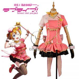 LoveLive! Honoka Kousaka Sky Uniform Cosplay Costume