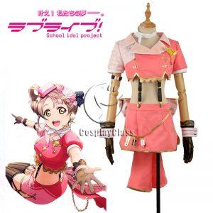 LoveLive! Kotori Minami Sky Uniform Cosplay Costume