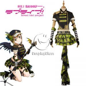 LoveLive! Kunikida Hanamaru Punk Rock Cosplay Costume