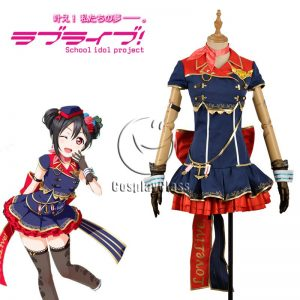 LoveLive! Nico Yazawa Sky Uniform Cosplay Costume