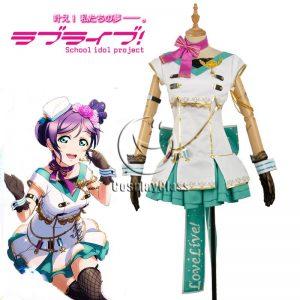 LoveLive! Nozomi Tojo Sky Uniform Cosplay Costume