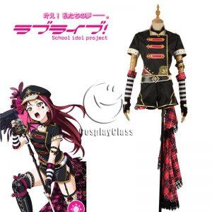 LoveLive!Sunshine!! Sakurauchi Riko Punk Rock Awakening Cosplay Costume