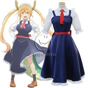 Miss Kobayashi`s Dragon Maid Tooru Cos Cosplay Costume