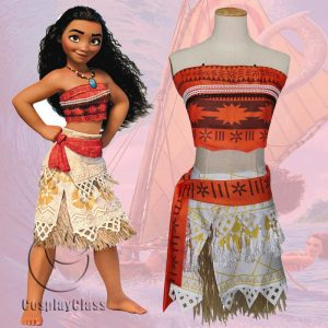 Moana Cos Cosplay Costume