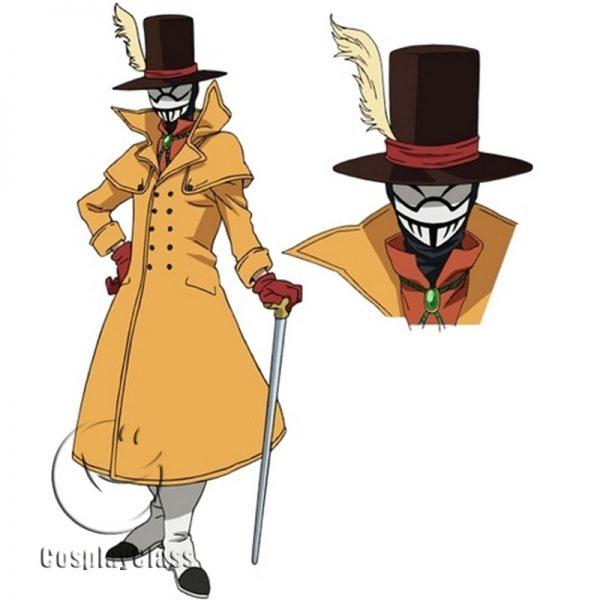 My Hero Academia Season 3 Mr. Compress Cosplay Costume