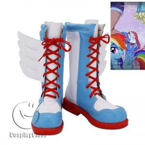 My Little Pony Friendship Is Magic Rainbow Dash Cosplay Boots