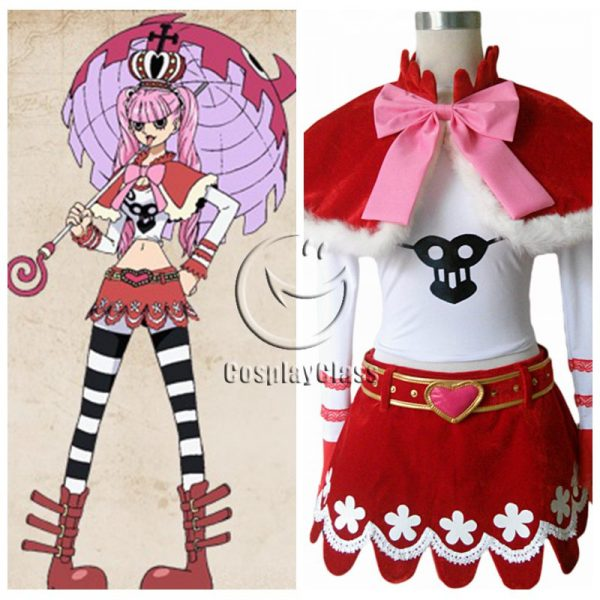 One Piece Perona Cosplay Costume