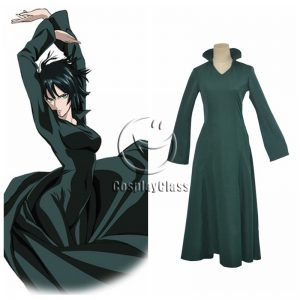 One Punch Man Hellish Blizzard Jigoku no Fubuki Cosplay Costume